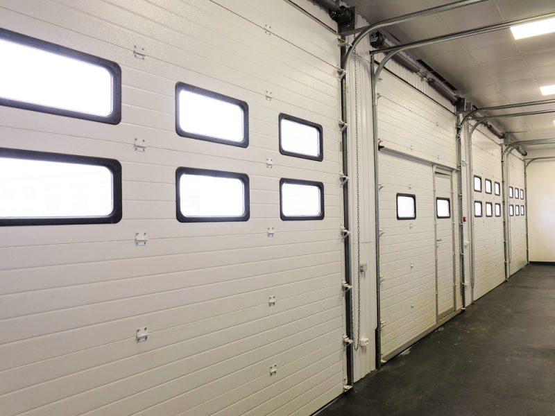 overhead sectionale deur